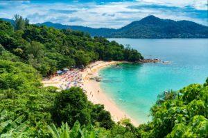 Bucht, Thailand, Meer, Yacht