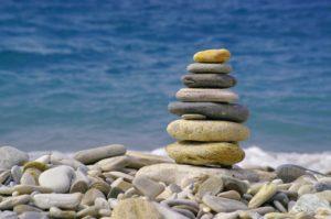Stein, Meer, Sand,Sonne