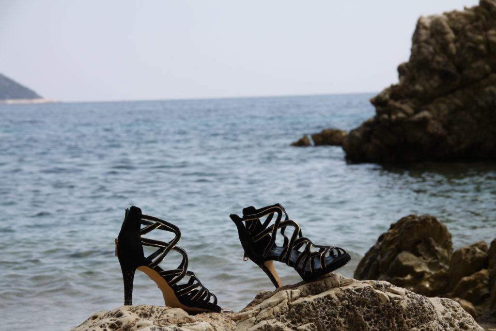 Schuhe, Meer, Yacht