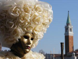 Campanile Maske Venedig