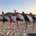 Yoga Strand Meer